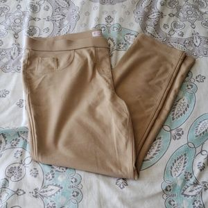 NWOT Khaki Skinny pants